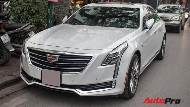 Sedan hạng sang Cadillac CT6 Premium Luxury đầu tiên xuất hiện tại Hà Nội