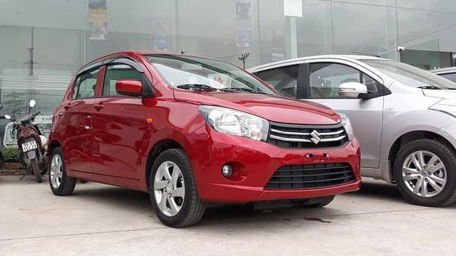 Suzuki Celerio nhập khẩu được niêm yết giá thấp hơn Kia Morning Si lắp ráp