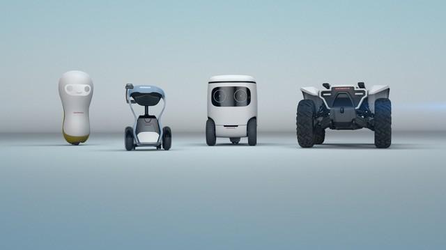 Khám phá bộ sưu tập robot của Honda tại CES 2018