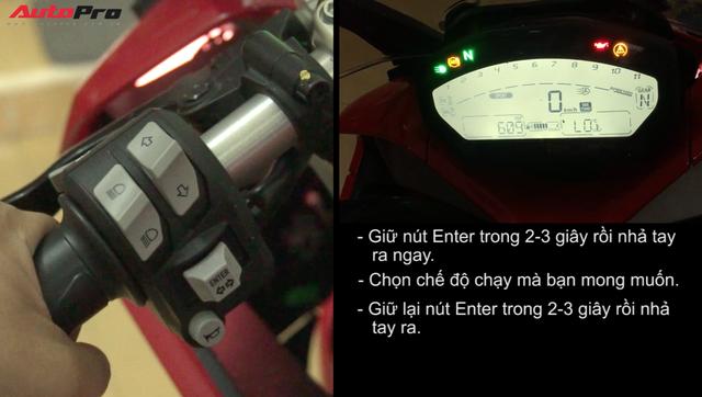 Hướng dẫn thay đổi một số chế độ trên màn hình của Ducati SuperSport - Ảnh 2.
