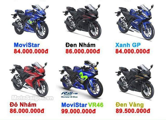 Đấu xe chính hãng, Yamaha R15 nhập khẩu ngoài giảm giá còn 84 triệu đồng - Ảnh 2.