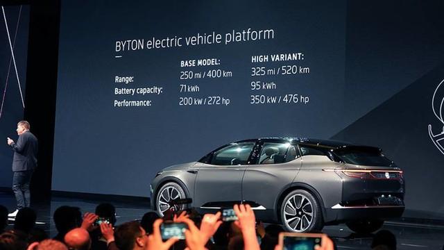 Byton Concept - xe điện Trung Quốc có màn hình giải trí lớn nhất thế giới - Ảnh 5.