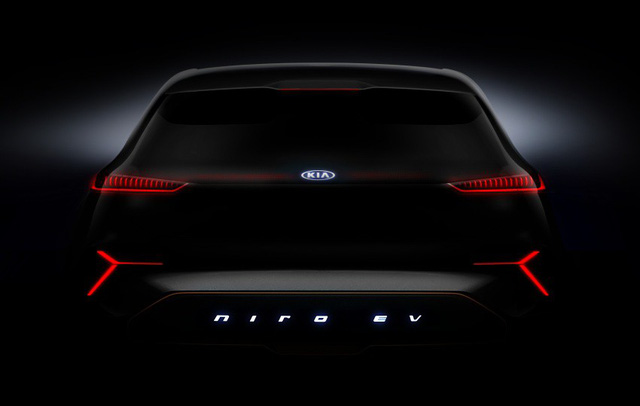 """Kia """"nhá hàng"""" xe điện Niro dùng màn LED thay lưới tản nhiệt tại CES 2018 - Ảnh 4."""