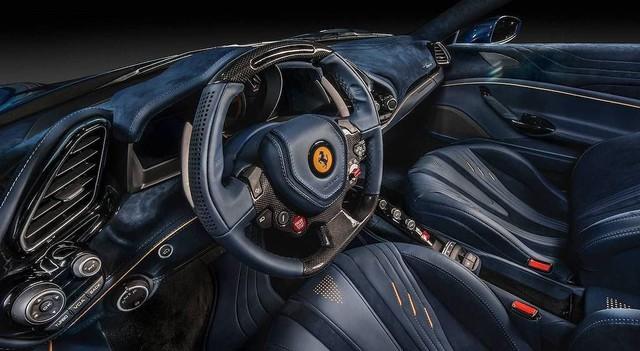 Ferrari 488 Spider độ nội thất: Khi siêu xe trở nên siêu sang - Ảnh 7.