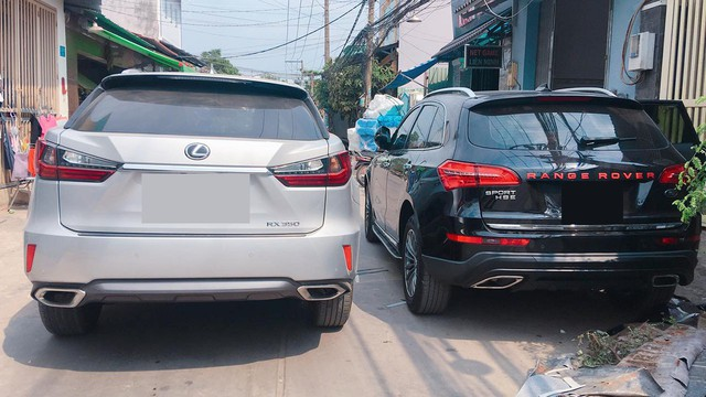 """Ô tô Trung Quốc độ """"lên"""" xe sang Range Rover tại Sài Gòn - Ảnh 4."""