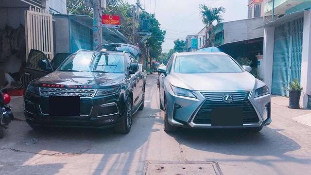 """Ô tô Trung Quốc độ """"lên"""" xe sang Range Rover tại Sài Gòn - Ảnh 3."""