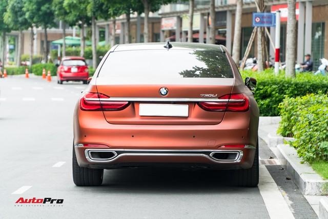 """BMW 750Li """"fake"""" màu hiếm của đại gia Sài Gòn - Ảnh 5."""