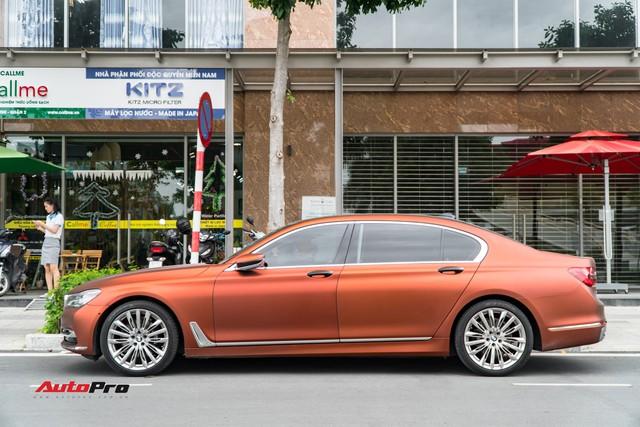 """BMW 750Li """"fake"""" màu hiếm của đại gia Sài Gòn - Ảnh 3."""