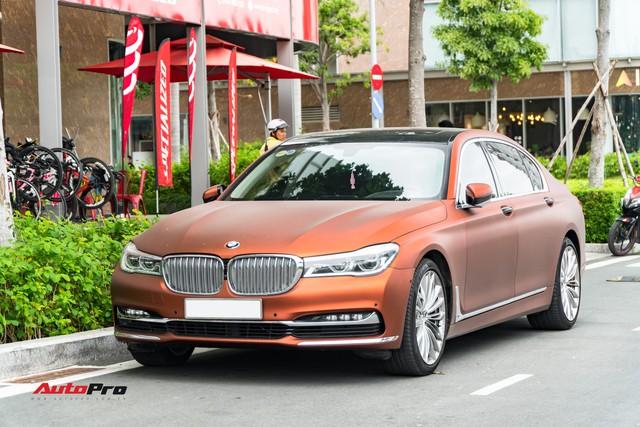 """BMW 750Li """"fake"""" màu hiếm của đại gia Sài Gòn - Ảnh 1."""