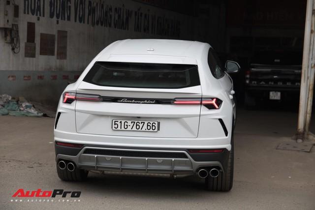 Siêu SUV Lamborghini Urus đầu tiên Việt Nam của Minh Nhựa ra biển lộc - Ảnh 5.