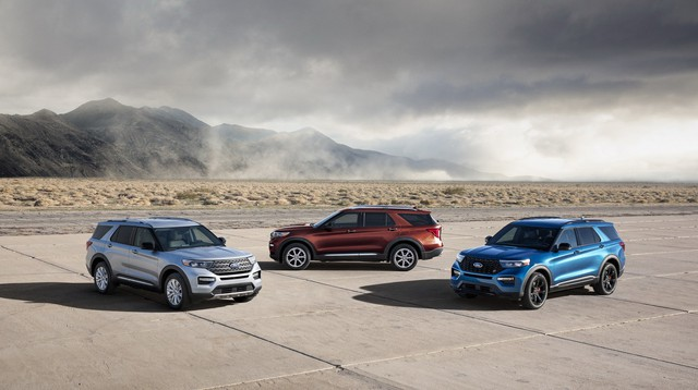 Ford trình làng Explorer ST - SUV mạnh nhất lịch sử thương hiệu - Ảnh 1.