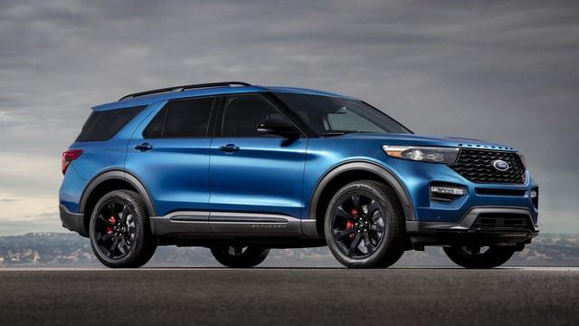 Ford trình làng Explorer ST - SUV mạnh nhất lịch sử thương hiệu