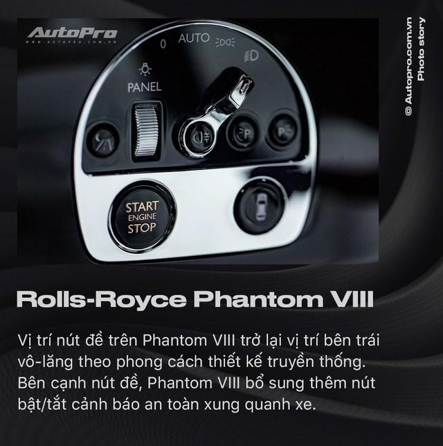 10 điều khác biệt của Rolls-Royce Phantom VIII vừa về Việt Nam - Ảnh 6.