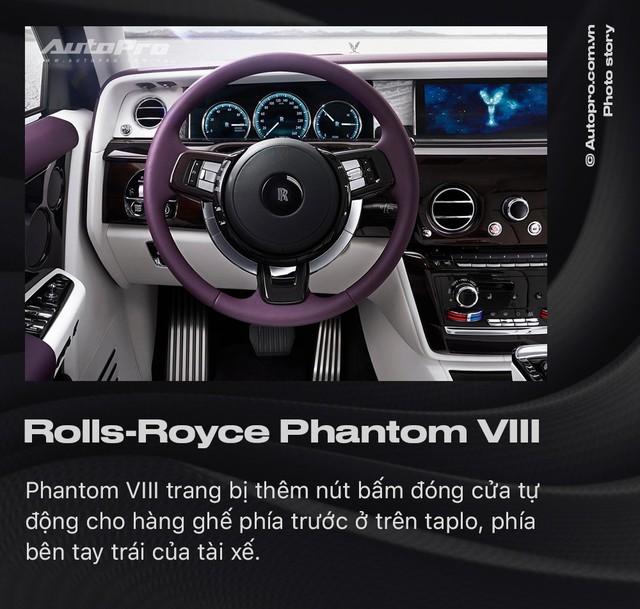 10 điều khác biệt của Rolls-Royce Phantom VIII vừa về Việt Nam - Ảnh 7.