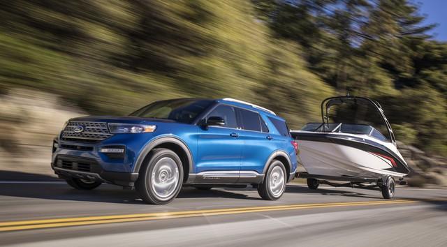 Ford trình làng Explorer ST - SUV mạnh nhất lịch sử thương hiệu - Ảnh 4.