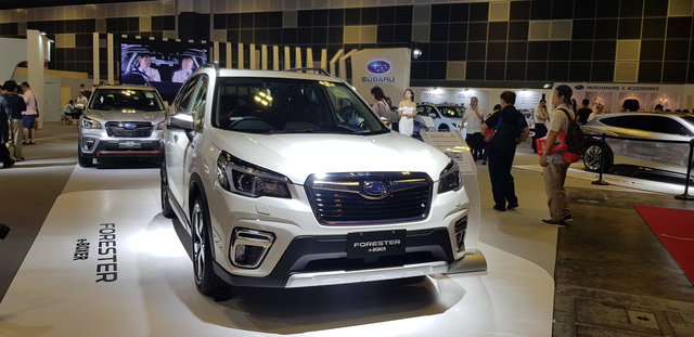 Subaru Forester e-Boxer lần đầu ra mắt Đông Nam Á, để ngỏ khả năng về Việt Nam - Ảnh 5.