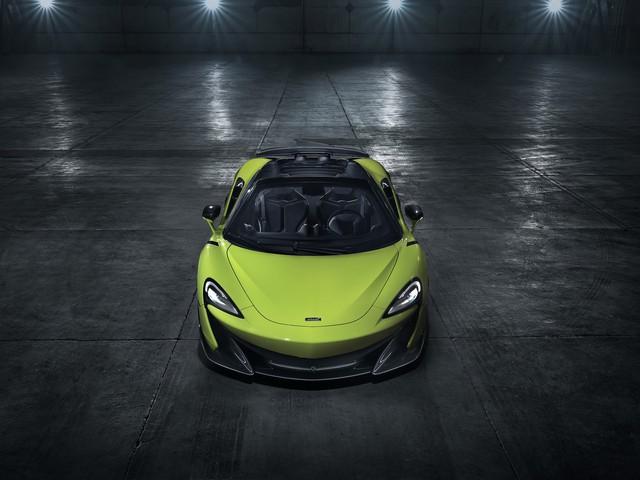 McLaren ra mắt 600LT Spider hoàn toàn mới - Siêu phẩm đầu tiên năm 2019 - Ảnh 2.