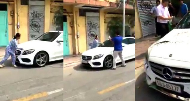 Cái kết bất ngờ vụ người phụ nữ cầm búa đập phá xế sang Mercedes gần 2 tỷ trên phố Sài Gòn - Ảnh 1.