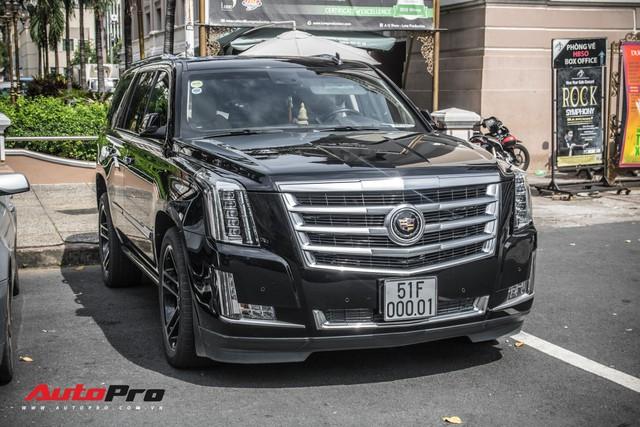 Cadillac Escalade 2015 biển khủng và độc nhất trên phố Sài Gòn - Ảnh 3.