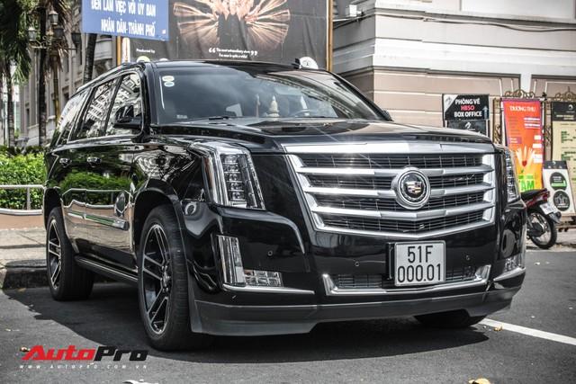 Cadillac Escalade 2015 biển khủng và độc nhất trên phố Sài Gòn - Ảnh 1.
