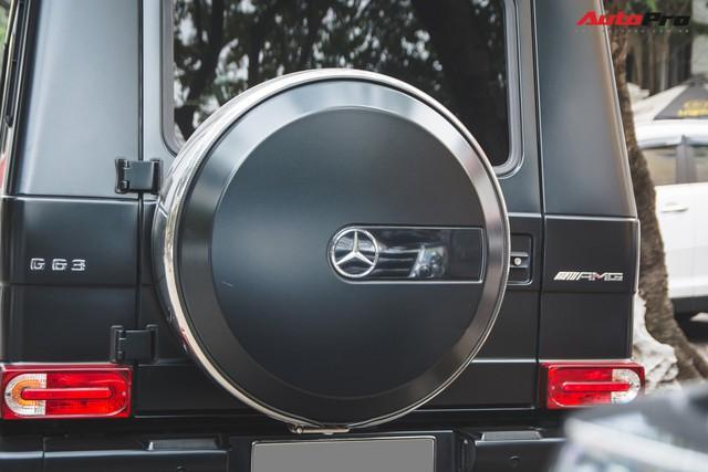 Mercedes-AMG G63 có màu sơn giá hơn 90 triệu đồng xuất hiện trên phố - Ảnh 11.