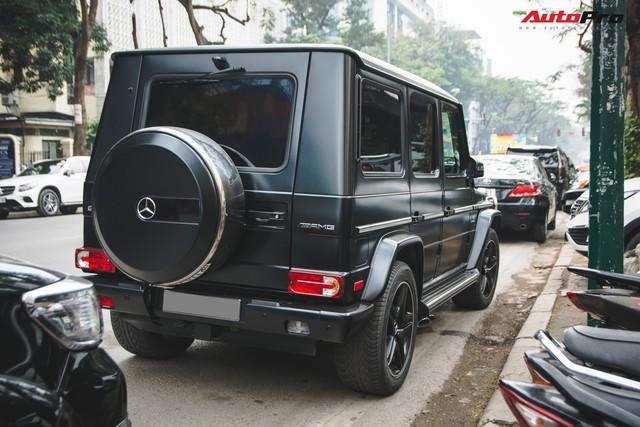 Mercedes-AMG G63 có màu sơn giá hơn 90 triệu đồng xuất hiện trên phố - Ảnh 5.