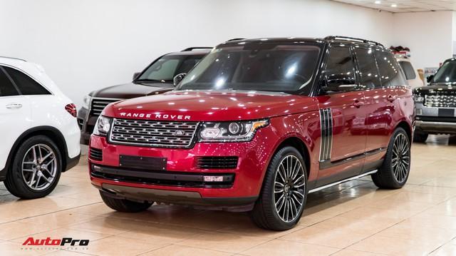 """Range Rover HSE 2015 độ kiểu Autobiography, tiết kiệm hơn 2 tỷ đồng so với phiên bản """"xịn"""""""