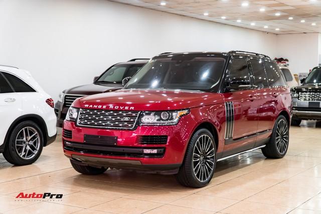 Range Rover HSE 2015 độ kiểu Autobiography, tiết kiệm hơn 2 tỷ đồng so với phiên bản xịn - Ảnh 1.