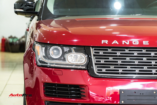 Range Rover HSE 2015 độ kiểu Autobiography, tiết kiệm hơn 2 tỷ đồng so với phiên bản xịn - Ảnh 2.
