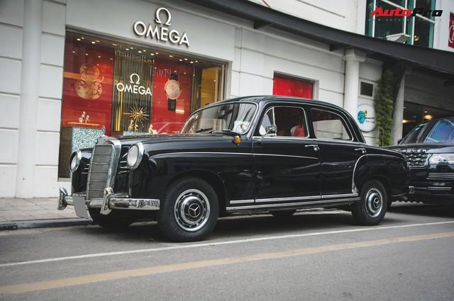 Mercedes-Benz 190 - Xe sang hàng hiếm gần 60 năm tuổi tại Việt Nam - Ảnh 1.