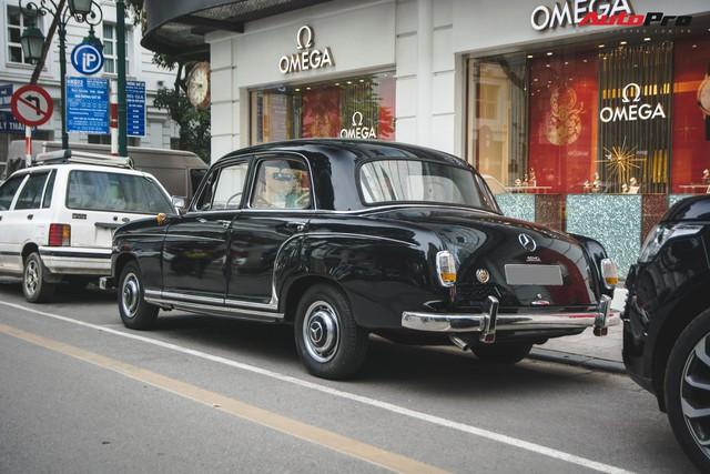 Mercedes-Benz 190 - Xe sang hàng hiếm gần 60 năm tuổi tại Việt Nam - Ảnh 8.