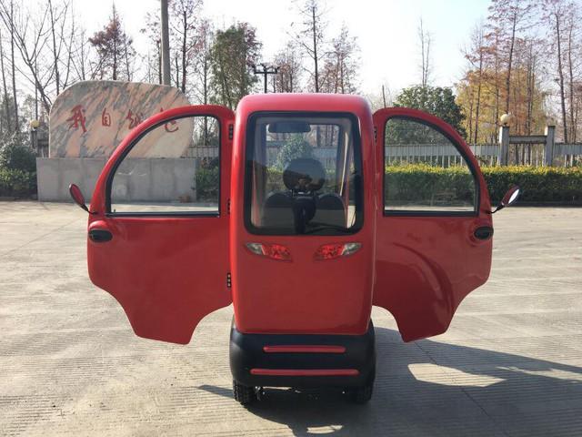 IDU - Ô tô Trung Quốc giá sốc 40 triệu, có cả camera lùi tại Việt Nam - Ảnh 4.