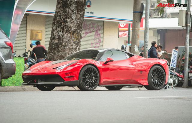 Khám phá gói độ bạc triệu độc nhất Việt Nam của Ferrari 458 Italia từng qua tay Phan Thành  - Ảnh 3.