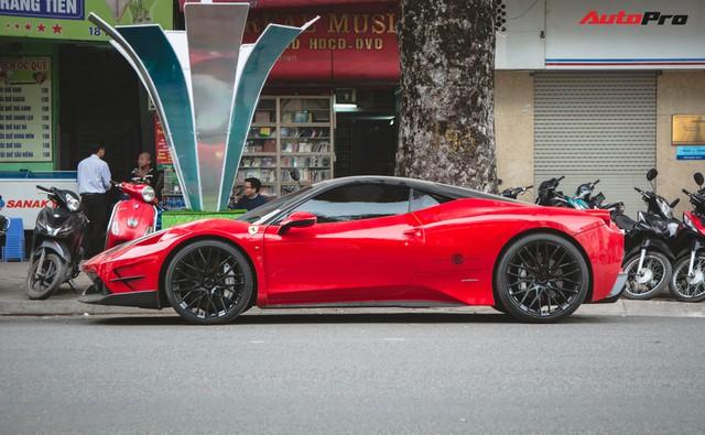 Khám phá gói độ bạc triệu độc nhất Việt Nam của Ferrari 458 Italia từng qua tay Phan Thành  - Ảnh 2.