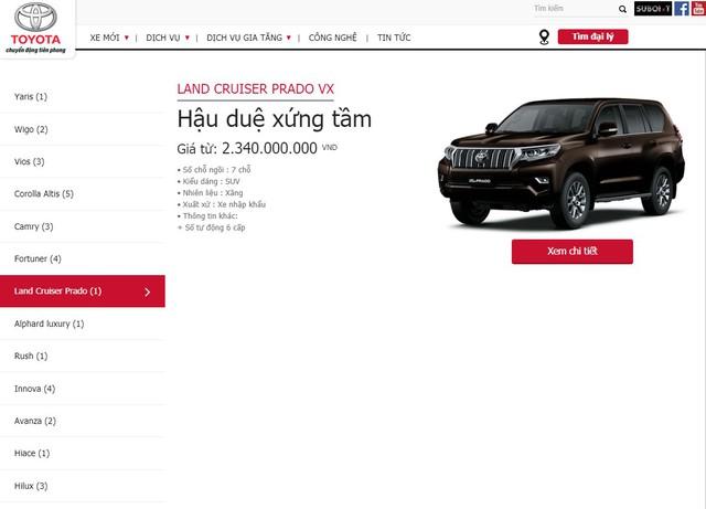 Toyota Land Cruiser 2019 chính hãng được chào bán với giá xấp xỉ 4 tỷ đồng - Ảnh 1.