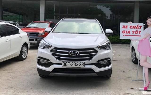 Bộ sưu tập Hyundai Santa Fe mang biển số khủng tại Việt Nam: Hà Nội chiếm ưu thế - Ảnh 4.
