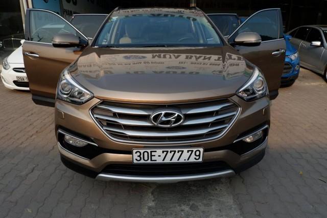 Bộ sưu tập Hyundai Santa Fe mang biển số khủng tại Việt Nam: Hà Nội chiếm ưu thế - Ảnh 7.