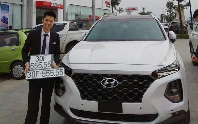 Bộ sưu tập Hyundai Santa Fe mang biển số khủng tại Việt Nam: Hà Nội chiếm ưu thế - Ảnh 1.
