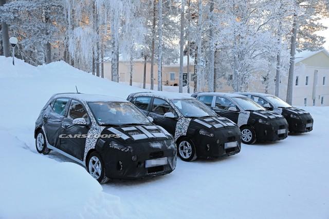 Hyundai i10 thế hệ mới lộ diện: Đột biến về thiết kế nội thất - Ảnh 1.