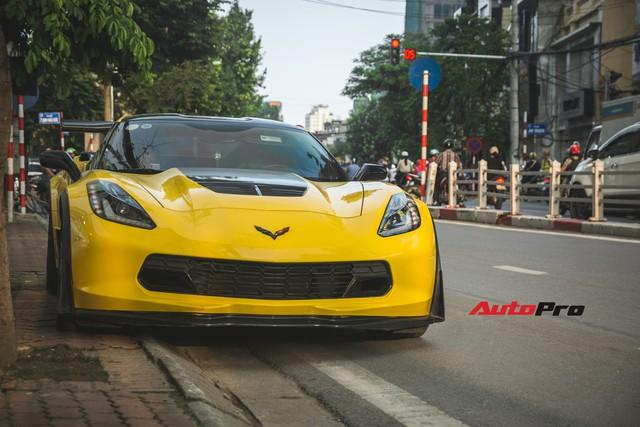 Chevrolet Corvette Z06 duy nhất tại Hà Nội độ cánh gió kích thước khủng - Ảnh 1.