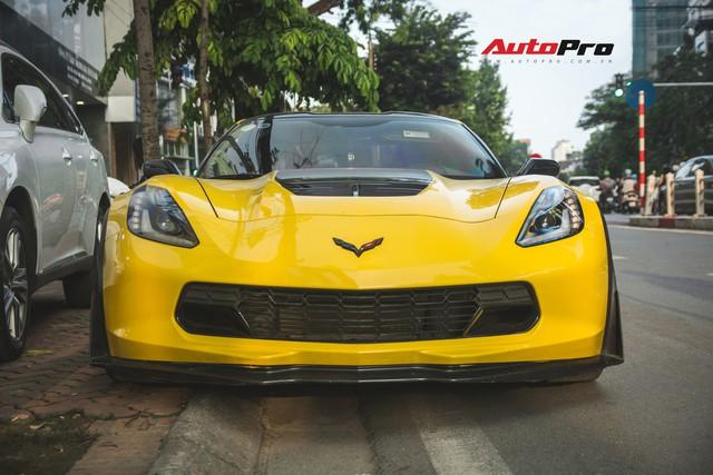 Chevrolet Corvette Z06 duy nhất tại Hà Nội độ cánh gió kích thước khủng - Ảnh 3.