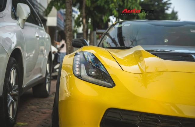 Chevrolet Corvette Z06 duy nhất tại Hà Nội độ cánh gió kích thước khủng - Ảnh 4.