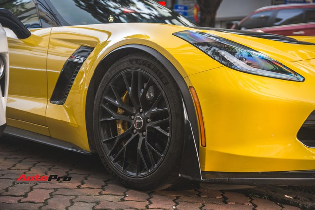 Chevrolet Corvette Z06 duy nhất tại Hà Nội độ cánh gió kích thước khủng - Ảnh 8.