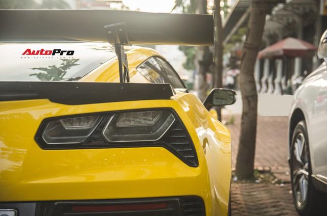 Chevrolet Corvette Z06 duy nhất tại Hà Nội độ cánh gió kích thước khủng - Ảnh 13.