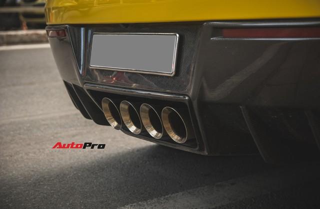 Chevrolet Corvette Z06 duy nhất tại Hà Nội độ cánh gió kích thước khủng - Ảnh 14.
