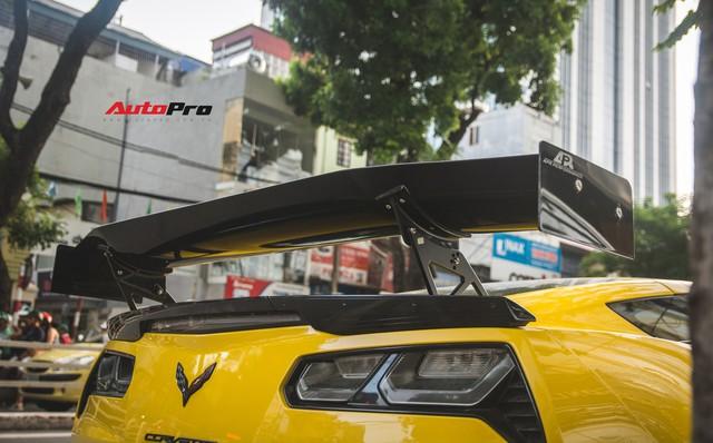 Chevrolet Corvette Z06 duy nhất tại Hà Nội độ cánh gió kích thước khủng - Ảnh 11.