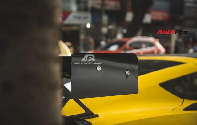 Chevrolet Corvette Z06 duy nhất tại Hà Nội độ cánh gió kích thước khủng - Ảnh 12.