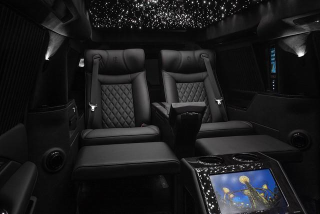 Cadillac Escalade độ thành quái vật chống đạn với nội thất siêu sang thượng thừa - Ảnh 5.