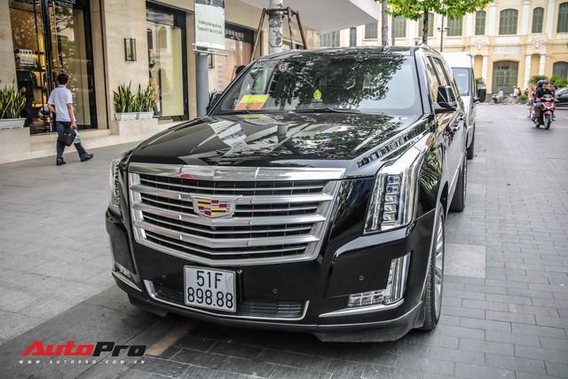 Cadillac Escalade 2015 biển khủng tứ quý 8 trên phố Sài Gòn - Ảnh 2.