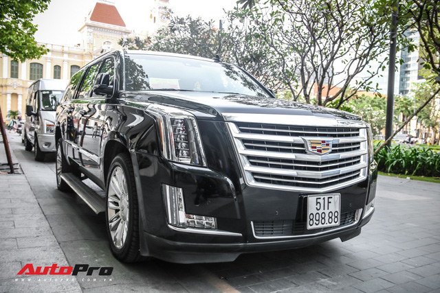 Cadillac Escalade 2015 biển khủng tứ quý 8 trên phố Sài Gòn - Ảnh 4.